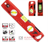 Free Delivery PLUMBSITE BOX LEVEL Cast Builders Level Magnetic Toolbox Kapro 923