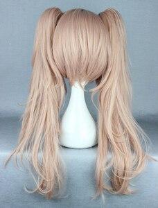 Image 4 - Anime Dangan Ronpa Enoshima Junko Wig Cosplay Costume Danganronpa Women Hair Halloween Women Wigs