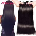 Brazilian Virgin Hair 4 Bundles Straight Human Hair 7A Unprocessed Brazilian Hair Weave Bundles Cheap Brazilian Straight Hair