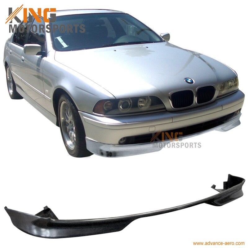 For 01 02 03 BMW E39 525 530 540 Wagon Sedan 4Dr Front Bumper Lip Spoiler