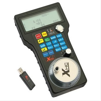 Wireless Electronic Handwheel For Engraving Machine Mach3 MPG USB  Wireless Handwheel For CNC 3,4 Axis Controller A545A ddcsv3 1 standalone motion controller off line 100 pulse mpg handwheel emergency stop for cnc router engraving machine