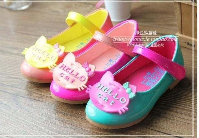 Baby girls new children's princess Casual shoes tide of kids free shipping
