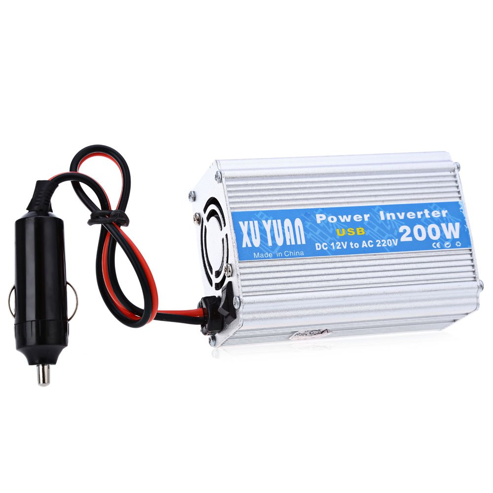 Hot Selling 200 W Dc 12 V To Ac 220 Car Power Inverter With Usb Volt Charging Port For Portable Stereos In Inverters From Automobiles Motorcycles On