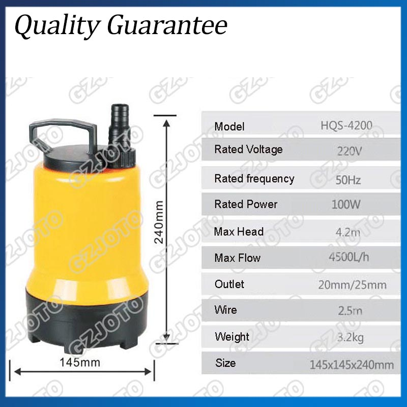 220V/50HZ Fish Pond Submersible Water Pump best selling clb series fish pond centrifugal submersible pump