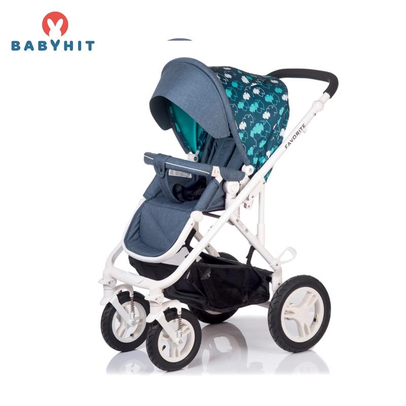 Four Wheels Stroller BabyHit FAVORITE Kidstravel
