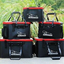 11/19/23/28/35L Opvouwbare Folding Dikker Eva Plastic Levende Vis Tank Water Emmer Outdoor camping Visgerei Dozen-in Dozen voor visgerei van sport & Entertainment op