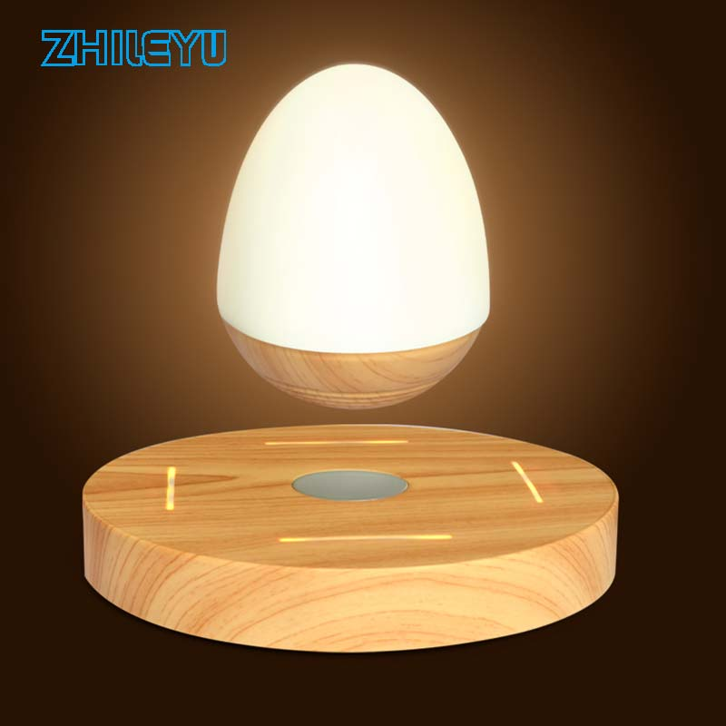 LED Levitating Bluetooth Speaker 3D Floating MAGLEV Wireless Magnetic Levitation For Wife Husband Girlfriend Farther S