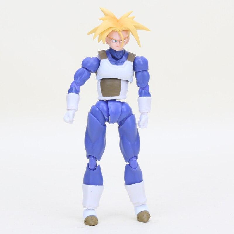 กล่อง 6 ชิ้น Figurine Dragon Ball Z ตัวเลขของเล่น Super Saiyan Son Goku Gokou Vegetto Freeza Trunks Action Figure Collection รุ่น-ใน ฟิกเกอร์แอคชันและของเล่น จาก ของเล่นและงานอดิเรก บน   2