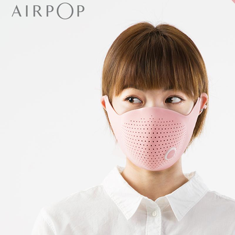 Xiaomi AirPOP Air Wear PM0.3 Anti-haze Face Mask With 4pcs Filter Adjustable Ear Hanging Comfortable Face Masks 4 Colors (7)