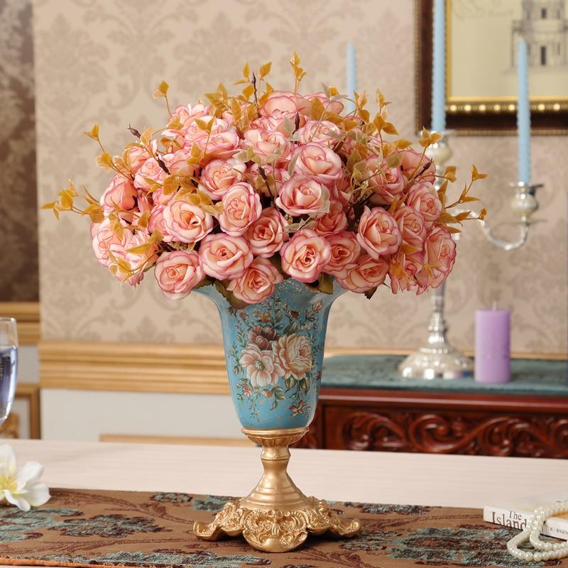 Wedding Gift Vase: European Court Room Decoration Flower Vase Vintage Wedding