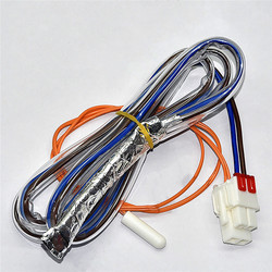 10K lodówka odszraniania czujnik + bezpiecznik dla LG AP4438477 PS3529340 6615JB2005H części do lodówki kabel czujnika rozmrażania|Części do lodówki|AGD -