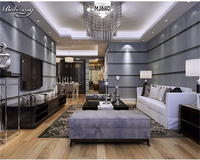 Stereoscopic 3D Wallpaper Modern Minimalist Art Of Imitation Marble Vertical Stripes Non Woven Wall Paper TV