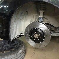 Jekit рифленая тормозного диска 355*32 мм с крышки центра pcd 5*114,3 для Subaru wrx sti 03 для JK racing JK7040 суппорты