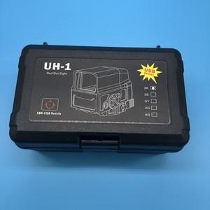 Image 5 - Регулируемый Оптический голографический прицел с красной точкой, прицельное виверное прицельное ружье с USB зарядкой для страйкбольной охотничьей винтовки