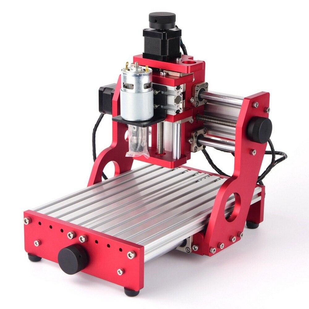 CNC 1419 en aluminium coupe pcb Machine de gravure petites Machines de CNC pour fer de bureau en métal cuivre bois Route outil de gravure - 4