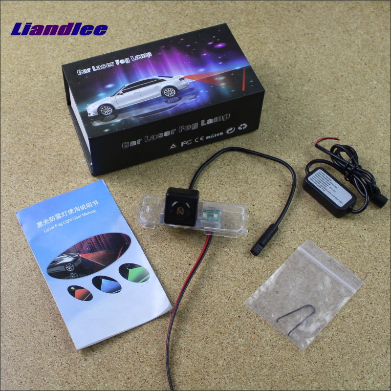 Liandlee Car Tracing Cauda Laser Light For Volkswagen VW Jetta MK6 / Bora 2010~2014 Special Anti Fog Lamps Rear Lights car tracing cauda laser light for volkswagen vw jetta mk6 bora 2010 2014 special anti fog lamps rear anti collision lights