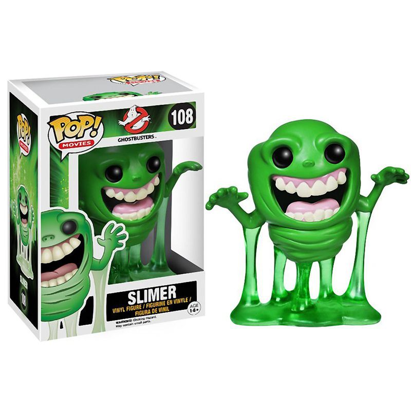 Funko pop Official Horror Movies: Ghostbusters - Slimer Vinyl Action Figure Collectible Model Toy with Original Box  official funko pop marvel x men logan wolverine vinyl action figure collectible model toy with original box