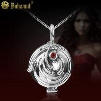 925 Silver Jewelry Retro Vampire Diaries Verbena Female Pendant Necklace for Girlfriend Girl Birthday Gift
