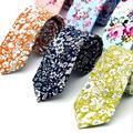 15 Styles New Casual 100% Cotton Ties For Men Vintage Printed Floral Gravatas Corbatas Slim Suit Vestidos Necktie Party Ties