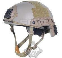 Best TB-FMA Ballistic Aramid Fiber Version Helmet Airsoft Combat Paintball DE Color for Motorcycle Cycling Helmet Free Shipping