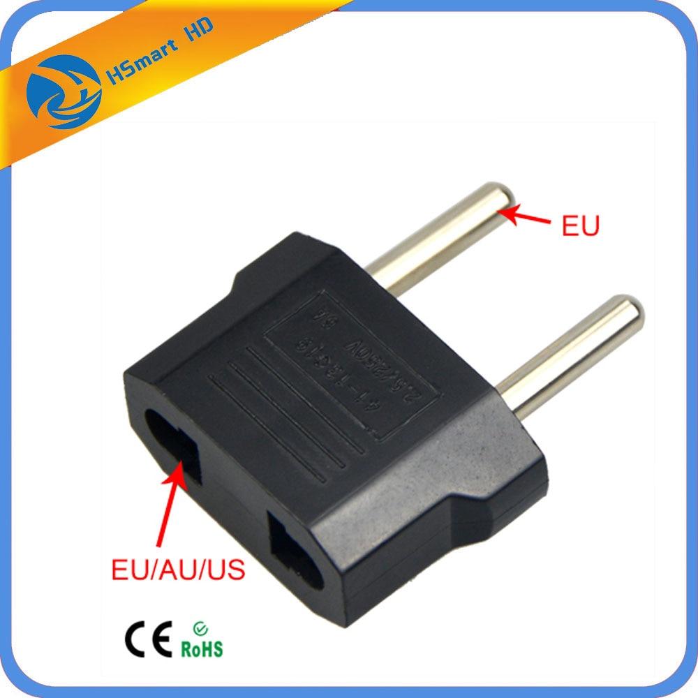 Camera Power CCTV USA to Euro Europe Wall Power Charge Outlet Sockets US or EU to EU AC Plug Adapter Converter стоимость
