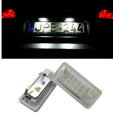 Car LED Number License Plate Light For Audi A4 A6 C6 A3 S3 S4 B6 B7 S6 A8 S8 Rs4 Rs6 Q7 Exterior Accessories carbon cabin air filter for audi s6 s4 rs6 a6 a4 rs4 4 2 allroad quattro a6 a4 quattro car styling accessories oe 8e0819439
