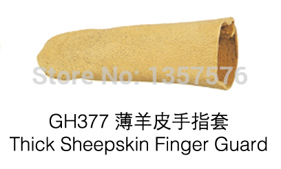 50pcs/lot GH377 Thick sheepskin finger guard ,jewelry tools,safe keeping gloves
