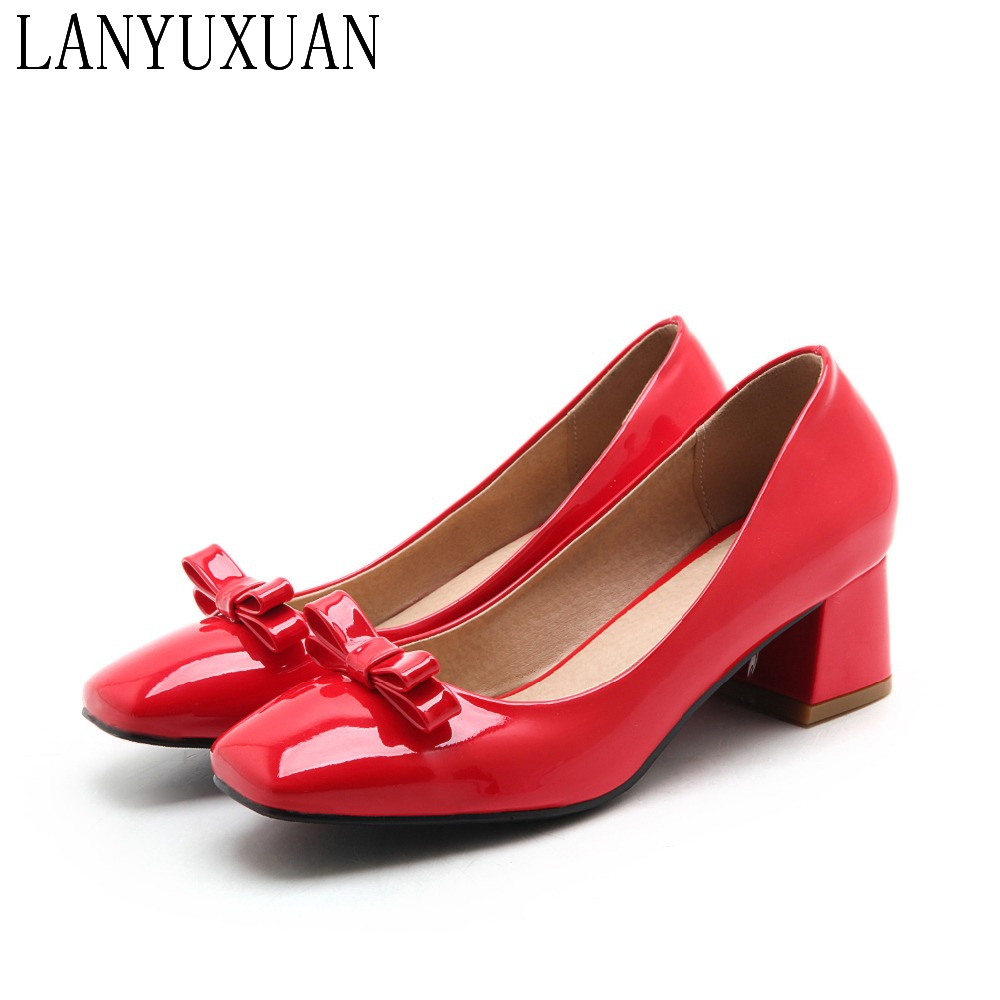 2017 New Hot Sale Big Size 32-46  4 Colour New Spring Autumn Women's Pumps Women Shoes High Heels Pu Party Wedding shoes 99-5 hot sale big size 32 44 fashion spring autumn women shoes sexy solid pu leather platform ankle strap high heels augz 958