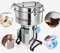 Высокоскоростной Электрический зерна специи измельчители 3500 г, китайской медицины мельница для кофе сухая еда порошок дробилка шлифовальн