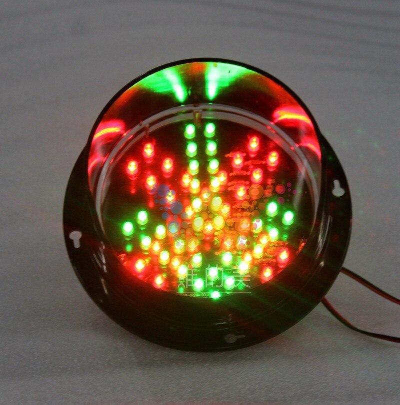 WDM 125mm 24 V Car Washing Signal Stop Go Light