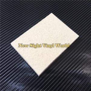 Image 4 - 100 pcs/Lot Custom LOGO Car Wrapping Vinyl Film Installation Tool Wool Squeegee