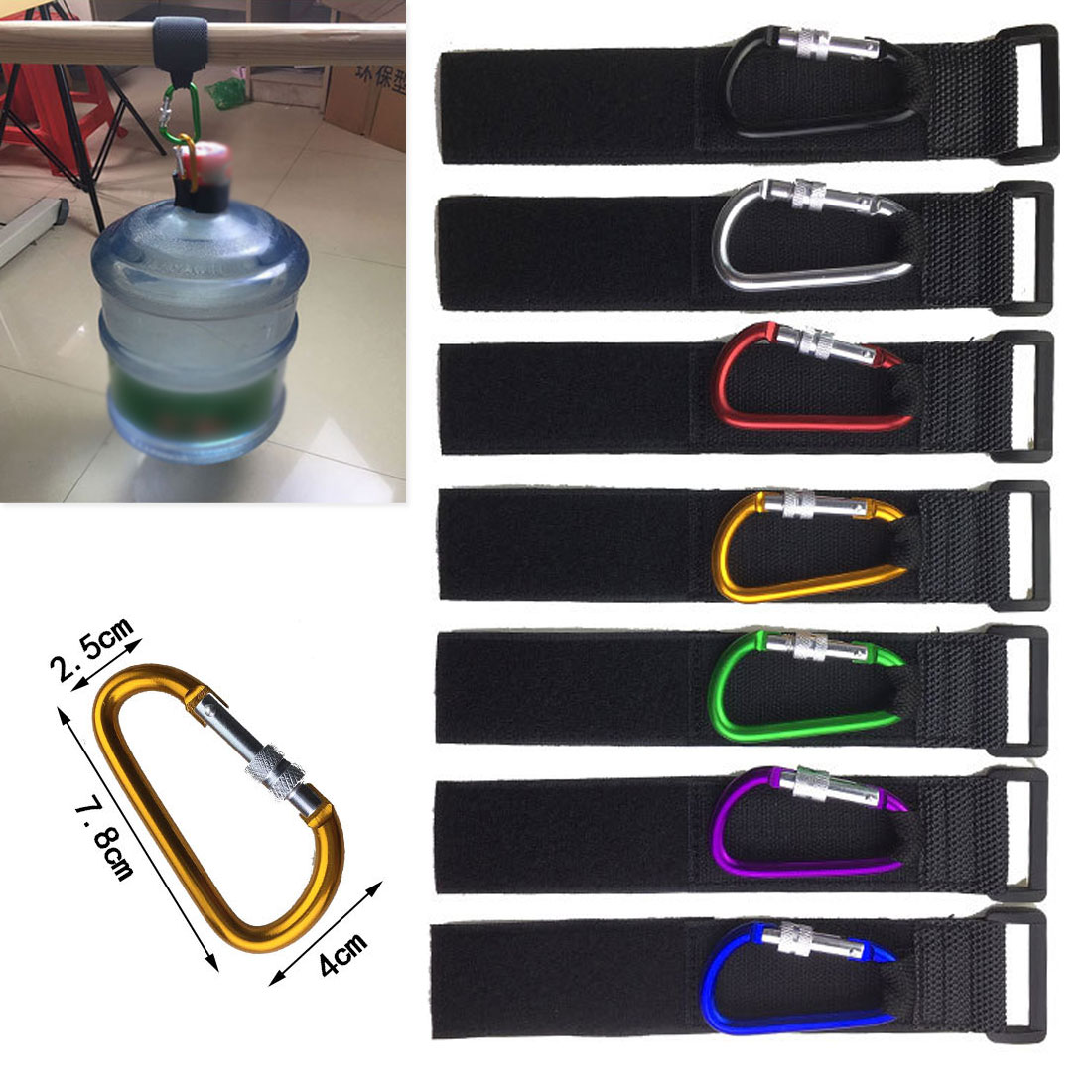Universal Stroller Hooks Wheelchair Stroller Pram Carriage Bag Hanger Hook Baby Strollers Shopping Bag Clip Stroller Accessories in Strollers Accessories from Mother Kids