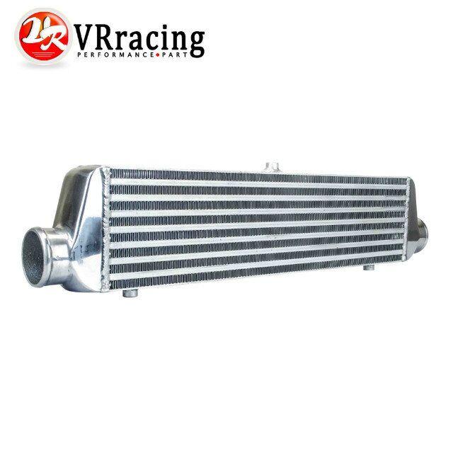 VR RACING - 550*140*65mm Universal Turbo Intercooler bar&plate OD=2.5 Front Mount intercooler VR-IN811-25 pivot 450x300x76 alloy turbo front mount intcooler bar