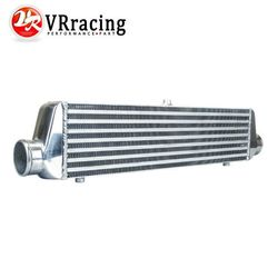 VR RACING - 550*140*65mm Universal Turbo Intercooler bar&plate OD=2.5
