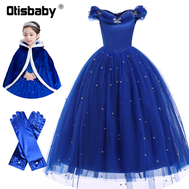 5bc8d306c0 New Year Costumes for Girl Tutu Cinderella Princess Party Dress Rapunzel Ball  Gown Girls Christmas Snow Queen Prom Holiday Dress