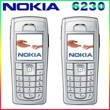 6230i 100% Оригинальный разблокирована Nokia 6230 6230i 850 мАч Поддержка русская клавиатура и арабский клавиатура мобильного телефона Бесплатная доставка