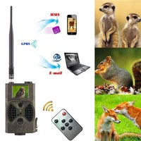 Trail camera 940nm infrared Photo traps 12MP hunting camera sms control wireless outdoor hunting camera Suntek HC 300M