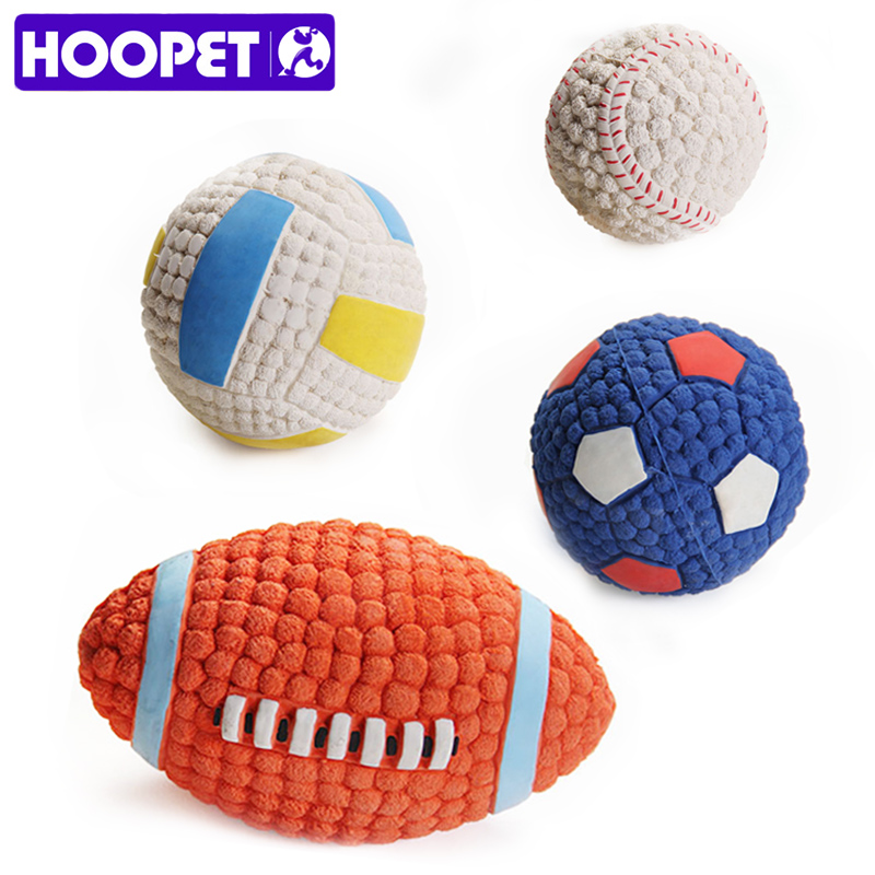 Woopet pelota juguete para perros Squeak cachorro juguetes interesante fútbol limpieza dental juguetes para perros