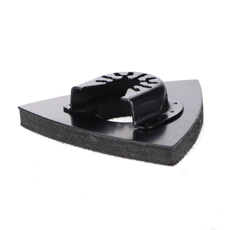 82mm Multi Tool Triangular Oscillating Tool Sanding Pad Quick Release Fits For Dremel