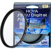 HOYA PRO1 цифровой УФ-фильтр 49 52 55 58 62 67 72 77 82 мм Низкопрофильная рамка Pro 1 DMC UV(O) Multicoat для Nikon Canon sony Fuji