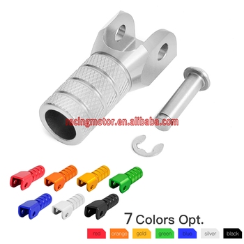 CNC Billet dźwigni zmiany biegów dźwignia zmiany biegów końcówki dla KTM SX SXF SXS EXC EXCF EXCW XC XCF XCW XCFW MX SMC SMR MXC sześć dni tanie i dobre opinie SX-F XC-F 10inch Dźwignia sprzęgła NICECNC 0 1kg Gear Shifter Shift Lever Tip Aluminum