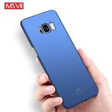 Msvii Ultra Ince Telefonu Samsung kılıfı Galaxy S6 S7 S8 S8 + S9 S9 + Kenar Artı Darbeye Dayanıklı arka kapak Için Samsung galax...