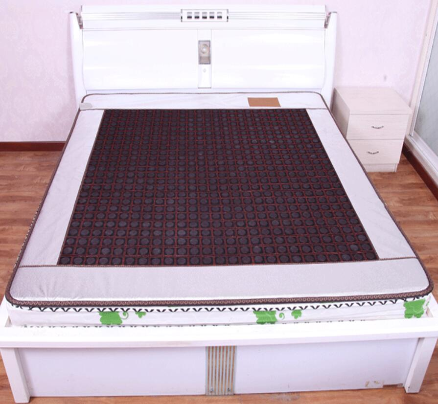 2017 High quality Jade Pad Tourmaline Heating Mattress Jade Sofa Cushion Far Infrared Thermal Ocher Mat 50*150CM