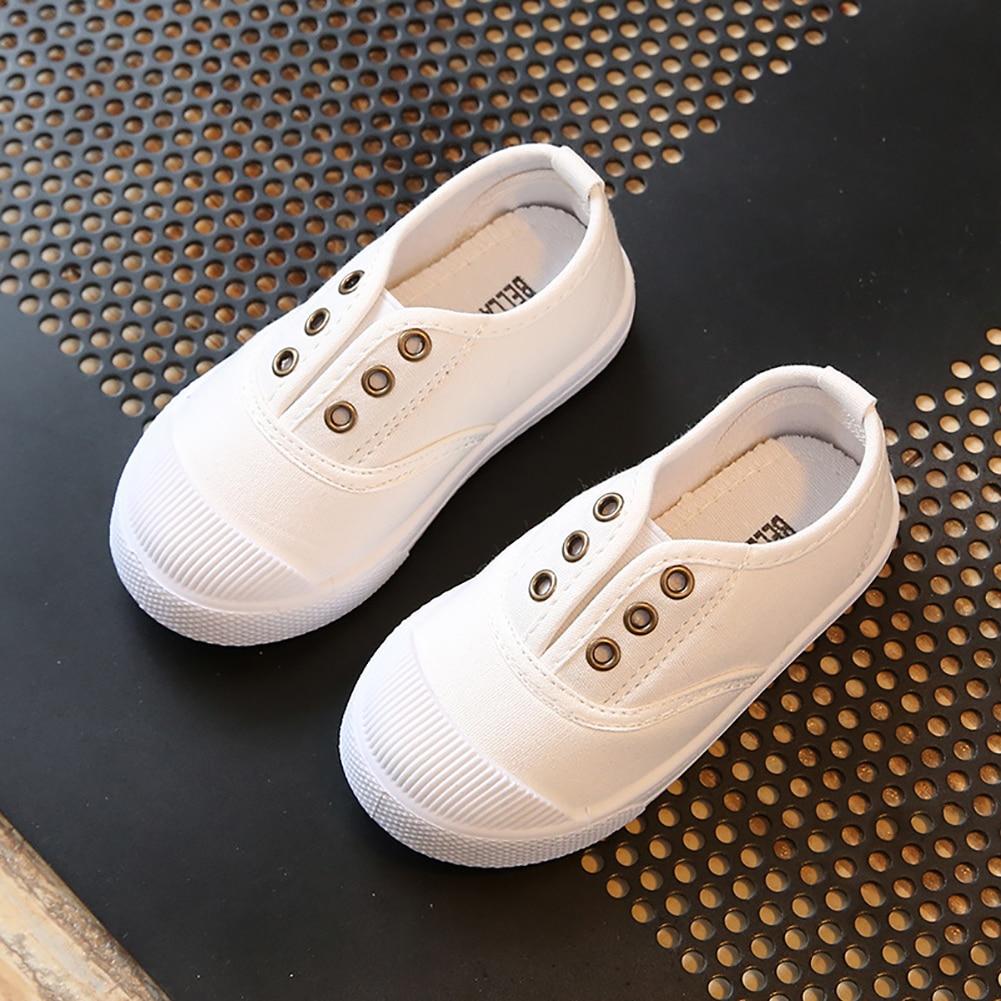 Hot Sale Fashion Children canvas shoes Boy Girl Baby kids soft sole Shoes