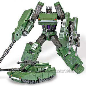 Image 5 - COOL Transformation Toys For Children Movie 5 Series Plastic ABS + Alloy Anime Action Figure Model Robot Car Toy Boy Kids Gift