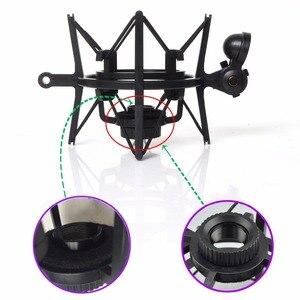 Image 4 - Sh 101 Hot Koop Microfoon Mic Professionele Shock Mount Met Pop Shield Zeef Voor Korte Draad Microfoon