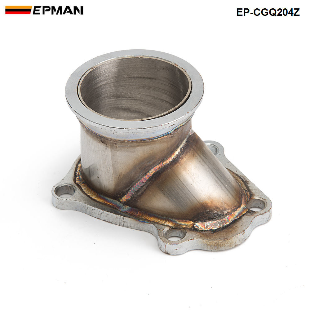 цена TD04 5 Bolt Turbo Downpipe Flange to 3 V Band Conversion Adaptor For Subaru Forester 2004-2008 EP-CGQ204Z