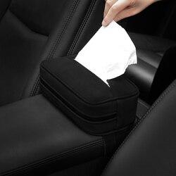 Samochód tkanki BoxMicrofiberTissue Holder Case  AutouniversalGeneral celu papieremręcznik pojemnik do samochodów wiszące akcesoria w Pudełka na chusteczki od Samochody i motocykle na