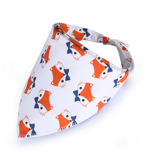 Baby Bibs NEW Style Bandana Black Triangle Bib for Girls Boys Toddler Infant Feeding Cotton Saliva Towel Scarf Baberos
