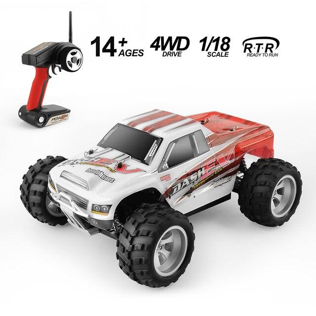 Carro rc wltoys a959/a979 1/18 versão de atualização 70 km/h 2.4g carro rc 4wd caminhão de controle de rádio rc buggy alta velocidade fora de estrada presente de natal